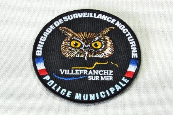 Brod Art - broderie sur mesure - broderie logo sur textile - écusson brodé police municipale villefranche