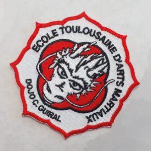 Brod art- ecusson brodé personnalisé - fabrication ecusson - arts martiaux-cadré