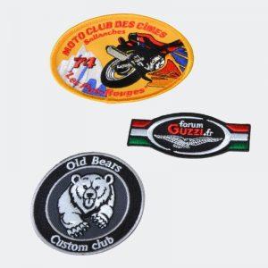 Brod Art - ecusson brodé personnalisé - fabrication ecusson - ecusson club de motos