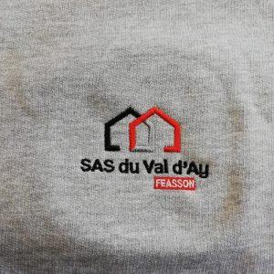 Brod art - broderies personnalisees - faire broder un vetement - logo sas