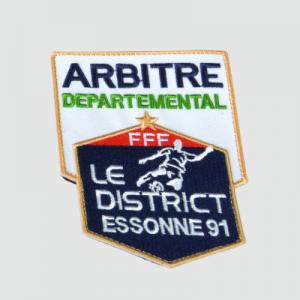 Brod art - vetement brodé personnalisé - sport association - écusson arbitre 54