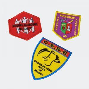 Brod Art - ecusson brodé personnalisé - fabrication ecusson - ecusson sapeurs pompiers