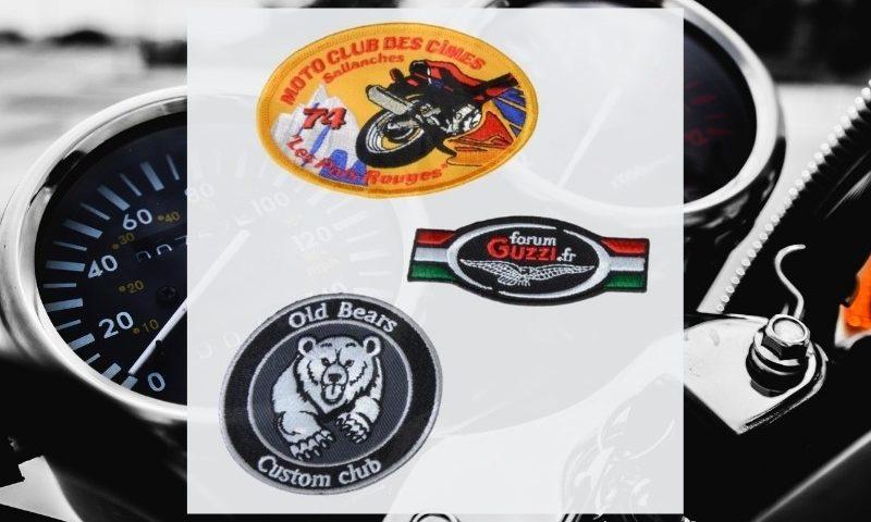 BROD ART -exemples de patch dorsal biker personnalisé