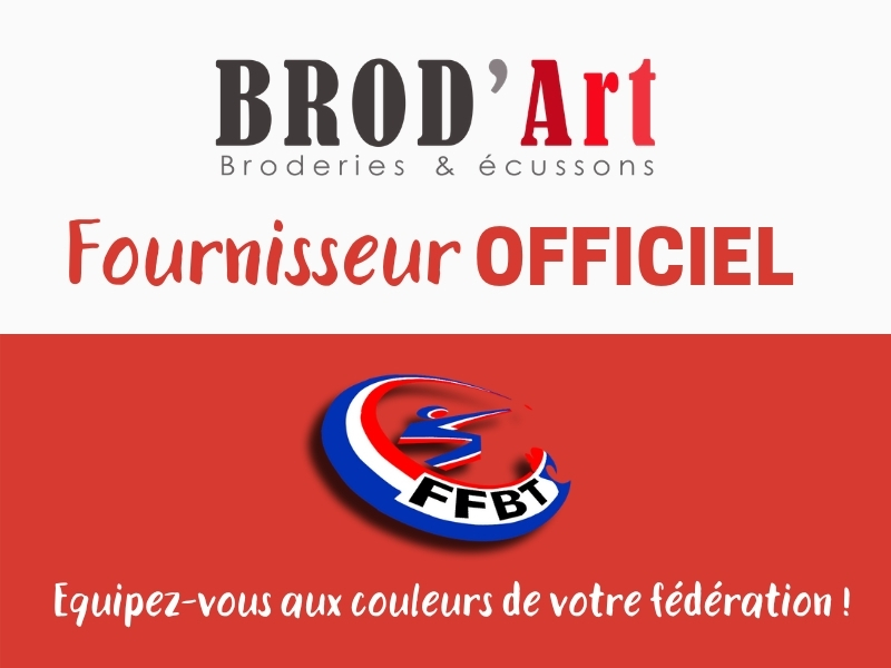 Actu-Brod'Art fournisseur officiel de la FFBT